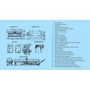 Iff50-200 - sécheuse-repasseuses - primus - vitesse du rouleau 1,5-8 m/min
