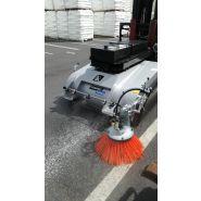 Balayeuse industrielle sur chariot leader'clean