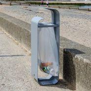 Ruban - poubelle publique - glasdon - 80 l