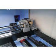 Dxtech-1390 - marquages laser - blue elephant - puissance du laser 130 et 150 w