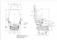 Siege tracteur unitedseats cs85 c7 pro