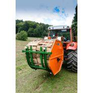 M7200 - fagoteuse à bois - posch - poids : 214 kg