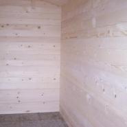 251 - abri de jardin en bois massif 12,3m² - madriers 42mm