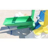 Broyeur de graines pour préparation de granulés avec cyclone ath07-et