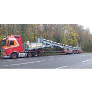 Max200 - remorque plateau pour poids lourd - max trailer distribution - 3 ou 4 essieux