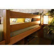 Lit avec 3 étages de tiroirs - massako 550