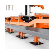 Wm4000 - scie industrielle - wood mizer - à trait de scie fin