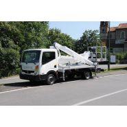 Mx250 camion nacelle - multitel - 25,30 m