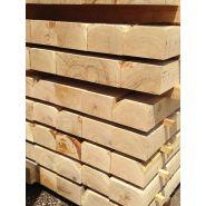 Traverse paysagère chêne - point p - 120x200x2600 mm