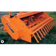 Bobland charrue rotative - charrue agricole - falc - hp 80 à 120