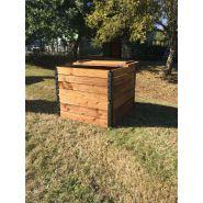 Composteur de jardin en bois compostys