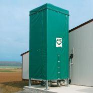 Flexilo exterieur - silos pour granulés de bois - abs - résistant aux intempéries
