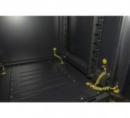 Dexlan baie de brassage cab-400 series 42u 800 x 800 (noir) version kit réf.755443