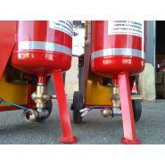 Aerogommeuse sableuse  amxt 10 acier portative