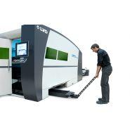 Electra fl - machine de découpe laser 2d - lvd s.a. - rapide et polyvalente