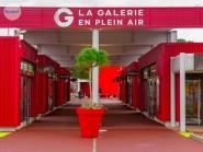 Abri pour galerie commerciale