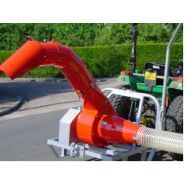 Gaa t3p - aspirateur de voirie urbaine - françois père et fils - débit d'air 120 m3 air/min