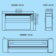 I25-140 - sécheuse-repasseuses - primus - capacité 40 kg/h