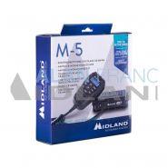 M-5 - cb radio - midland - 26.565 - 27.99125 mhz