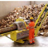 Combiné à bois de chauffage Forest Cut 48 - Gandini Meccanica - Longueur max du bois 4500 mm - Diamètre max du bois 380 à 400 mm