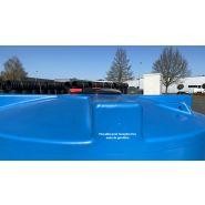 Cuve de stockage d eau 2000 bleu