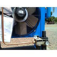 Aéroréfrigérant pour sableuse aérogommeuse aéroréfrigerant pneumatique autonomme
