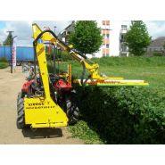 Taille-Haie hydraulique Microtaille - Kirogn - Hauteur de coupe horizontale maxi 2.40 m, verticale maxi 4.74 m