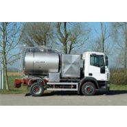 Remorque citerne - magyar sa - collecte de lait