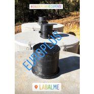 Cuve béton  10000 litres   rehausse   couvercle