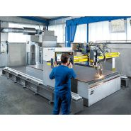 Combirex dx - coupe industrielle - esab france sas - système plasma air jusqu'à 120 a
