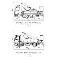 182 tm camion nacelle - fe group - 18.5 m