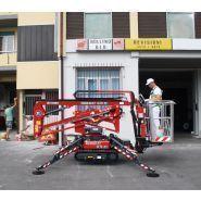 Goldlift 14.70 iiis - nacelle araignée - hinowa s.p.a. - capacité nacelle chenillée 120kg à 200kg