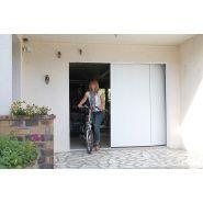Porte de garage latérale - safir - epaisseur 40 mm