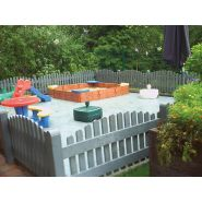élément de clôture - hahn france - clôture facilement installée