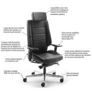 Azkar fauteuil ergonomique