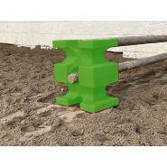 Cavaletti / bloc obstacle  vert anis