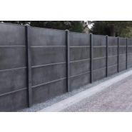 Clôtures en béton mur plein - bvn - poids départ 65 à 93 kg