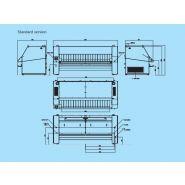 I80-320 - sécheuse-repasseuses - primus - vitesse du rouleau 3-15 m/min