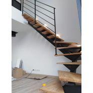 Escalier tournant acier
