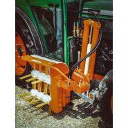 Rp w 2 - épampreuse mécanique - braun maschinenbau - hauteur de travail 600mm