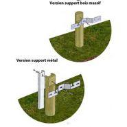 Glissière de sécurité bois/métal