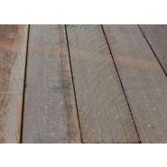 5885 - traverse paysagère en azobé - tropical woods - 100 x 200 x 3500 mm
