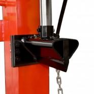 Fendeuse de bûches verticale électrique 12t 380v hecht - h6120