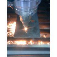 Mecalase - machine de découpe laser 2d - mécanuméric - vitesse maxi. en mm/sec  250