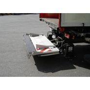 Uasx 1508 - hayon élévateur - sörensen - rétractable, capacité 1500 kg
