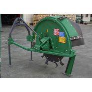Sm-s 3 cureuses de fossés et rigoleuses - sovema - poids 460 à 2756 kg
