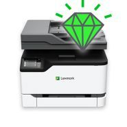 Cx330 series - imprimantes multifonctions - lexmark france - vitesse 24 pages par minute¹