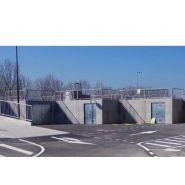 Quai modulaire déchetterie beton (construction / agrandissement...)