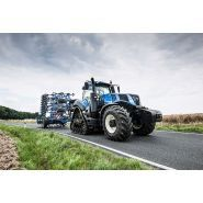 T8.320 tracteur agricole - new holland - puissance maxi 235/320 kw/ch