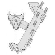 Cureuses de fossés et rigoleuses monoroue - dondi - vitesse d'avancement maximale jusqu'à 1.4 km/h